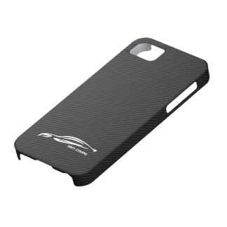 White GEN COUPE Logo Case For The iPhone 5