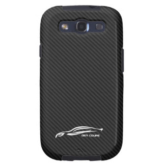 White Genesis coupe Silhouette Logo Galaxy SIII Cover