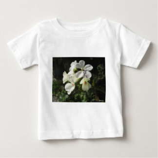 White Geraniums 1 - Simple Pleasures Baby T-Shirt