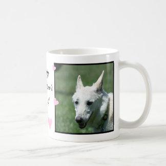 White German Shepherd Coffee Mug