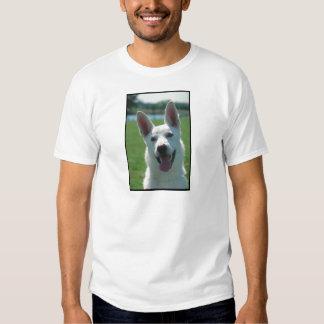 White German Shepherd Dog Tshirts