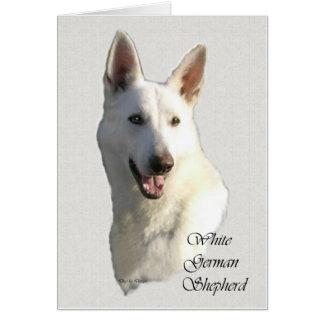 White German Shepherd Gifts Card