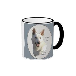 White German Shepherd Gifts Coffee Mug