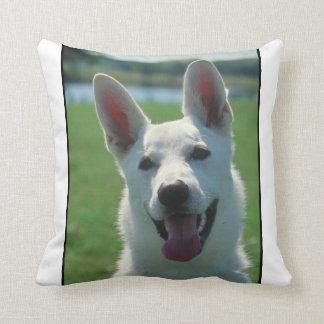 White German Shepherd MoJo Pillow