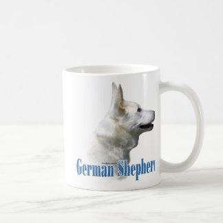 White German Shepherd Name Basic White Mug