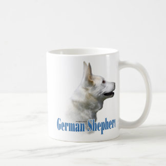 White German Shepherd Name Coffee Mug