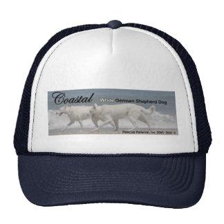 White German Shepherd Rescue Cap