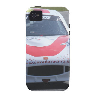 White Ginetta racing car iPhone 4/4S Cases
