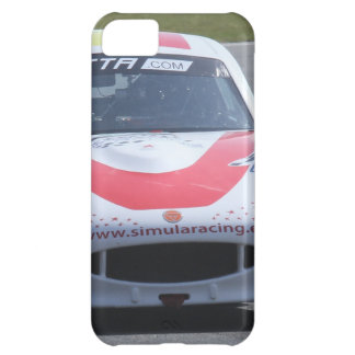 White Ginetta racing car iPhone 5C Cover