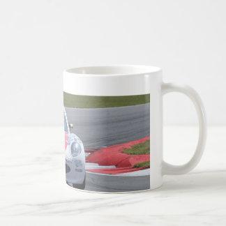 White Ginetta racing car Classic White Coffee Mug
