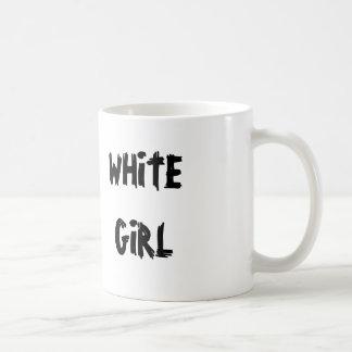 White Girl Basic White Mug