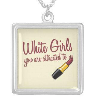 White Girls Necklace
