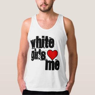 White Girls Tank Top