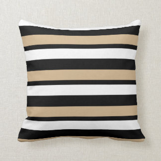 Black White Tan Throw Pillows : Custom Black And Tan Throw Cushions Zazzle.co.uk
