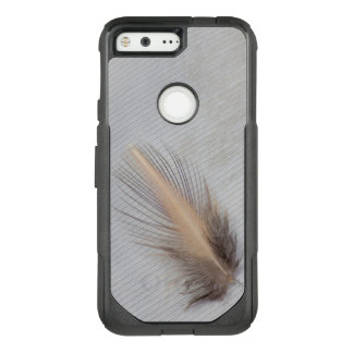 White Goose Feather Still Life OtterBox Commuter Google Pixel Case