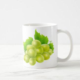 White grapes basic white mug