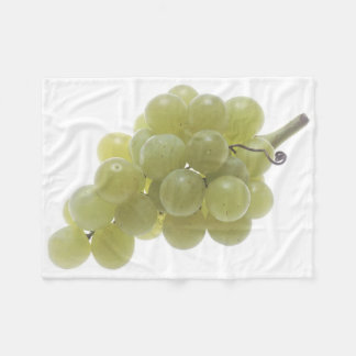 White Grapes Fleece Blanket
