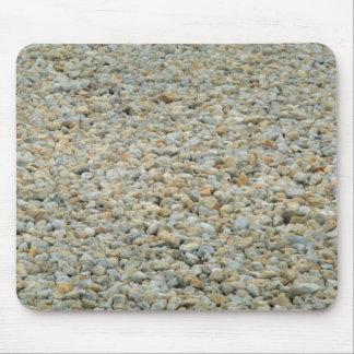 White gravel mousepad