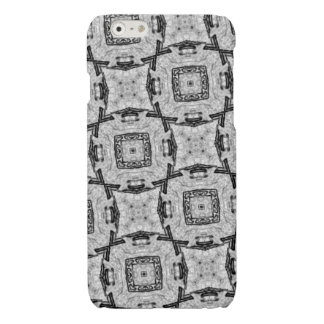 white grey black pattern iPhone 6 plus case