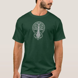 White Guitar Tree of Life T-Shirt
