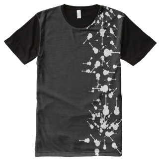 white guitars All-Over print T-Shirt