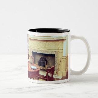 White Hall Dining-Room, near Charleston Two-Tone Coffee Mug