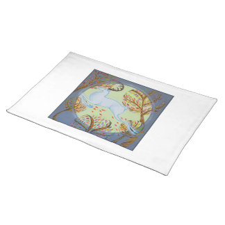 White Hart Leaping. Placemat
