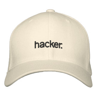 White Hat hacker. Embroidered Hats