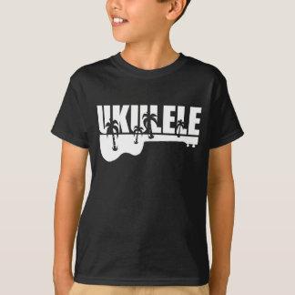 white hawaiian ukulele T-Shirt
