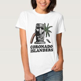 White Haynes Comfortsoft Woman's Islander Track T Tee Shirts