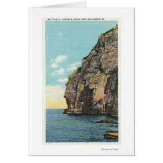 White Head in the Portland Harbor Greeting Card