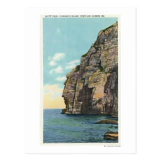 White Head in the Portland Harbor Postcard