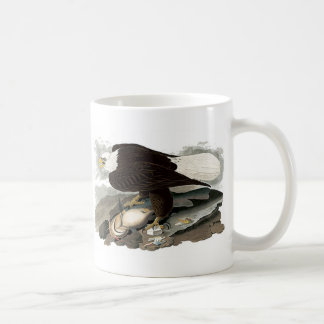 White Headed Eagle | John James Audubon Coffee Mug