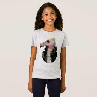 White-Headed Vulture Watercolor Painting T-Shirt