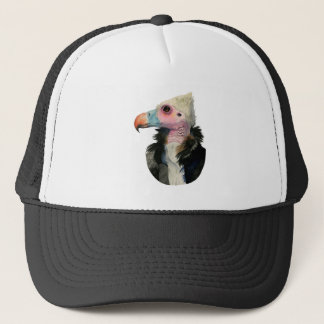 White-Headed Vulture Watercolor Painting Trucker Hat