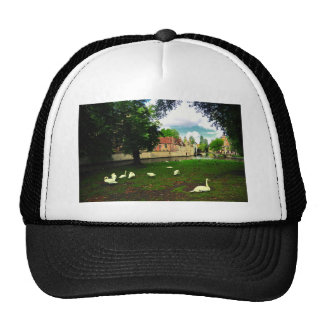 White Heaven Mesh Hats