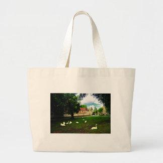 White Heaven Jumbo Tote Bag