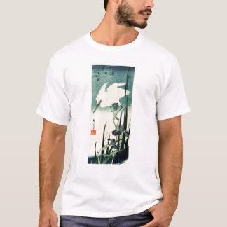 White Heron and Iris T-Shirt