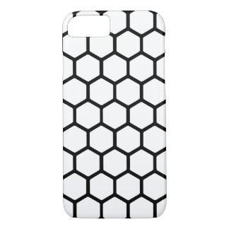 White Hexagon 4 iPhone 7 Case