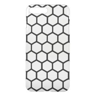 White Hexagon 4 iPhone 7 Plus Case