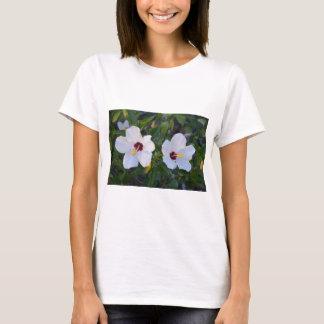 White Hibiscus. T-Shirt