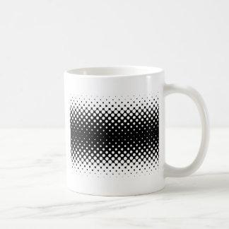 White Holes Background Coffee Mug