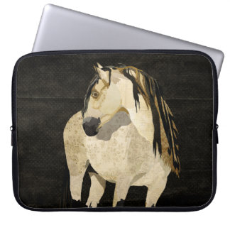 White Horse Computer Sleeve