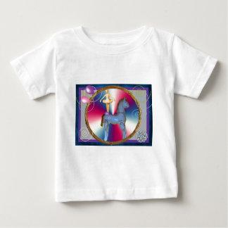 White horse dancer baby T-Shirt