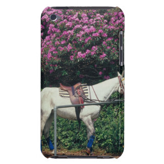 White Horse in a Garden Barely There iPod Cover