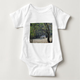 White Horse in trees Infant Creeper