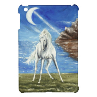 white horse iPad mini case