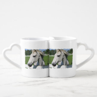 White Horse Lovers Mug