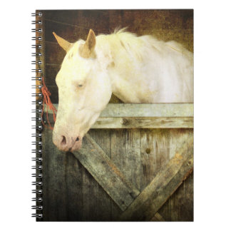 White Horse notebook