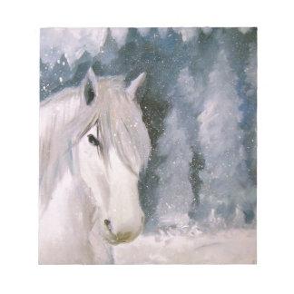 White Horse Notepad